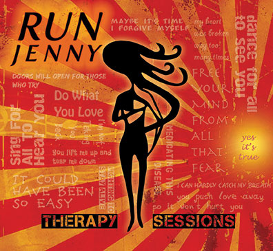 Run Jenny's debut cd Therapy Sessions is now available.